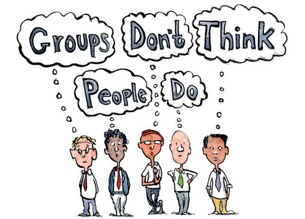 groups dont think people do logic